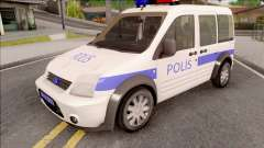 Ford Tourneo Connect 90PS Turkish Police für GTA San Andreas