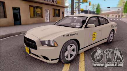 Dodge Charger Slicktop 2012 Iowa State Patrol für GTA San Andreas