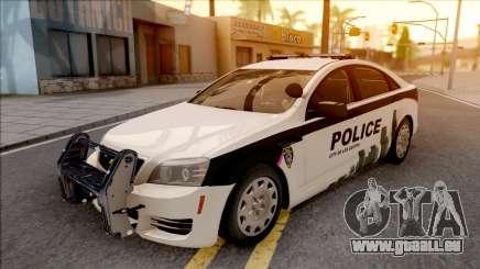 Chevrolet Caprice 2013 Los Santos PD v1 pour GTA San Andreas
