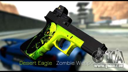 Zombie Weapon Pack für GTA San Andreas