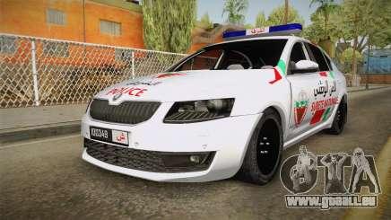 Skoda Octavia Moroccan Police pour GTA San Andreas