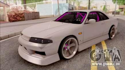 Nissan Skyline R33 Drift Monster Energy für GTA San Andreas