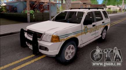 Ford Explorer 2002 Boone County Sheriff Office für GTA San Andreas