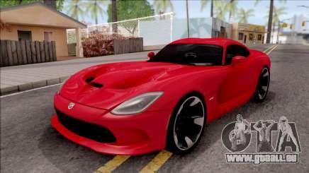 Dodge SRT Viper GTS 2012 pour GTA San Andreas