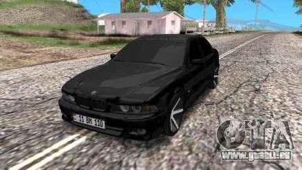 BMW E39 Armenian Vossen pour GTA San Andreas
