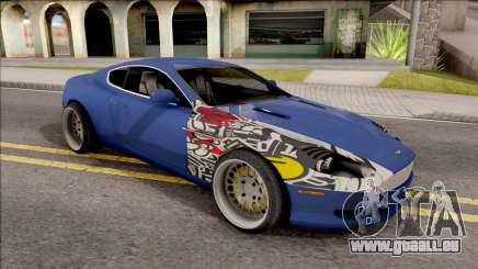 Aston Martin DB9 Drift Style - Drift Handling für GTA San Andreas