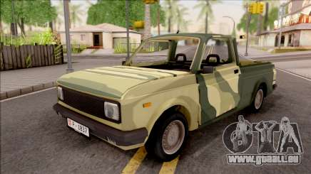 Zastava Poly 1.1 Vojni Auto pour GTA San Andreas
