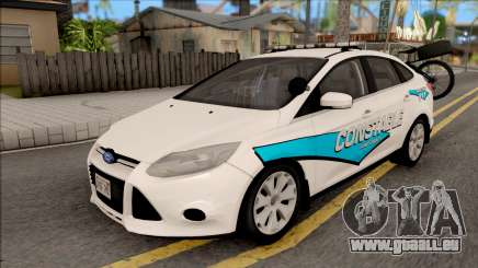 Ford Focus 2013 Flint County Constable Office für GTA San Andreas
