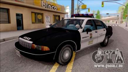 Chevrolet Caprice Police LSPD pour GTA San Andreas