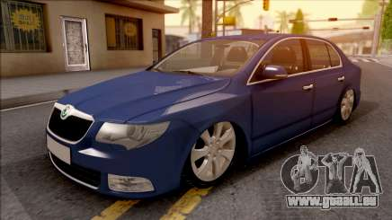 Skoda Superb 2009 pour GTA San Andreas