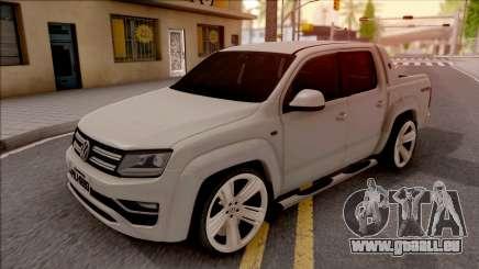 Volkswagen Amarok 4Motion 2017 für GTA San Andreas