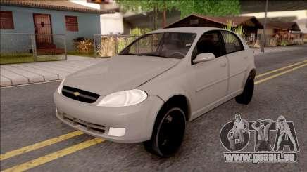 Chevrolet Aveo v2 Sin Sonido Version Sencilla für GTA San Andreas