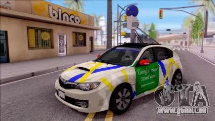 Subaru Impreza Google Street View Car pour GTA San Andreas