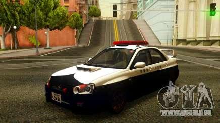 Subaru Impreza WRX STi 2004 Japanese Police pour GTA San Andreas
