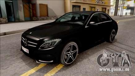 Mercedes-Benz C250 AMG Line v2 für GTA San Andreas