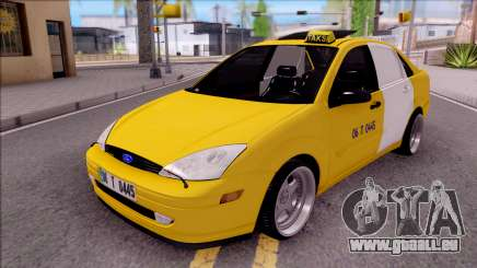 Ford Focus Mk1 Turkish Taxi pour GTA San Andreas