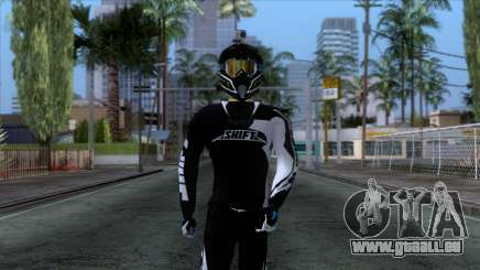 Motorcyclist Skin pour GTA San Andreas