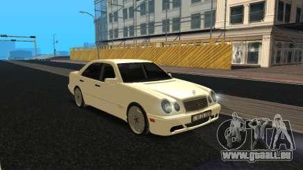 Mercedes-Benz E420 Armenian pour GTA San Andreas