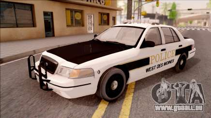 Ford Crown Victoria 2007 West Des Moines PD für GTA San Andreas
