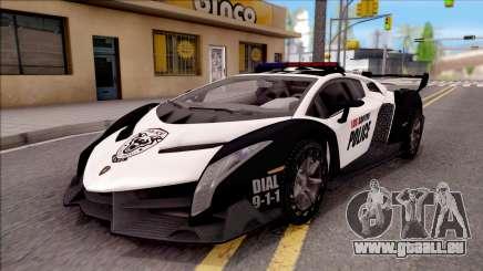 Lamborghini Veneno Police Los Santos pour GTA San Andreas