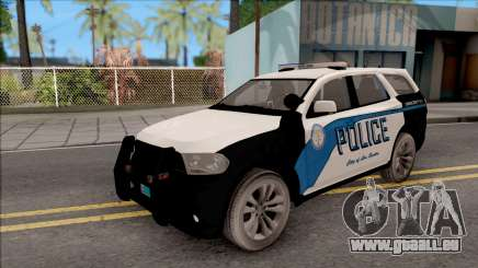 Dodge Durango 2011 Los Santos Police Department für GTA San Andreas