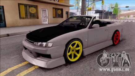 Nissan 200SX Cabrio Drift Monster Energy pour GTA San Andreas