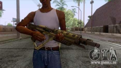 Evolve - Submachine Gun für GTA San Andreas dritten Screenshot