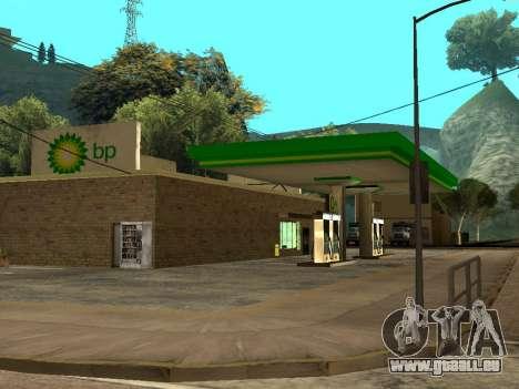 BP Gas Station für GTA San Andreas her Screenshot