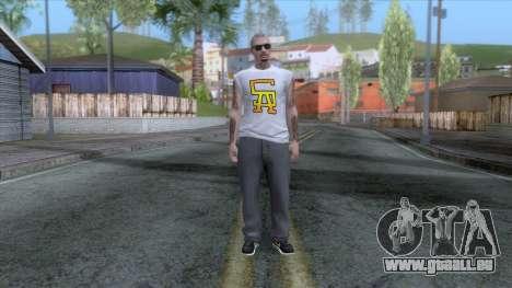 Outfit Gangsta - Skin Random v21 pour GTA San Andreas deuxième écran
