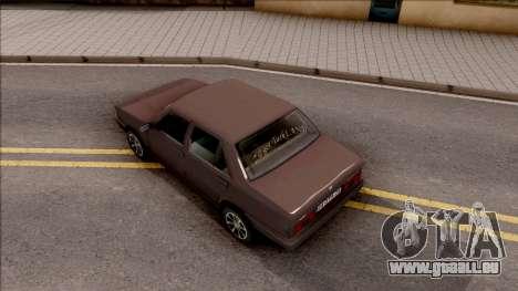 Tofas Sahin v2 pour GTA San Andreas vue arrière