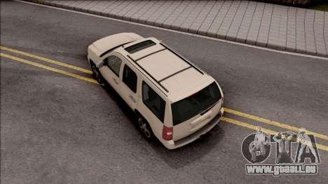 Chevrolet Tahoe LTZ 2008 pour GTA San Andreas