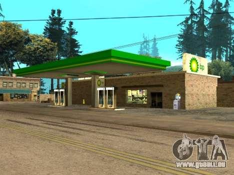 BP Gas Station für GTA San Andreas