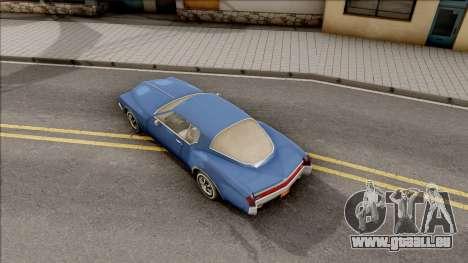 Driver PL Cerva pour GTA San Andreas vue arrière