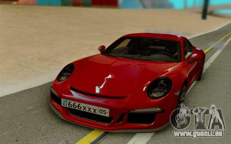 Porsche 911 R 2016 für GTA San Andreas linke Ansicht