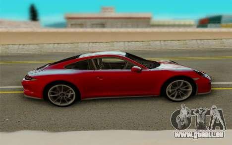 Porsche 911 R 2016 für GTA San Andreas Rückansicht