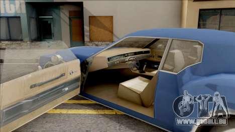 Driver PL Cerva pour GTA San Andreas vue intérieure