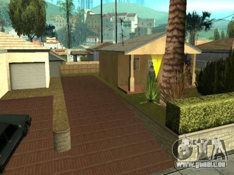 Parking Save Garages pour GTA San Andreas
