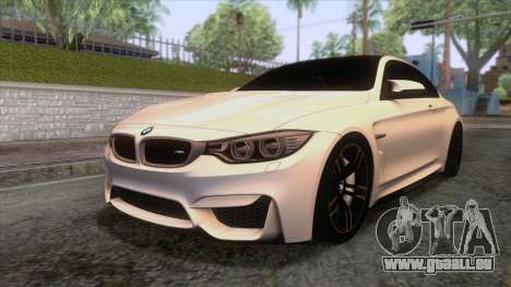 BMW M4 GTS High Quality pour GTA San Andreas