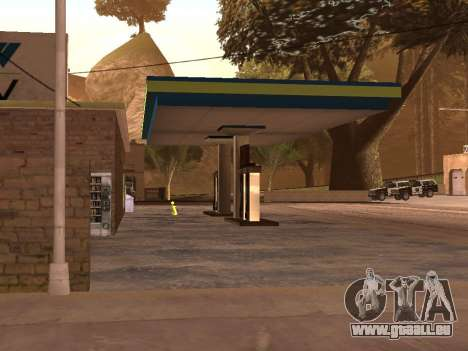 OMV Gas Station In Dillimore für GTA San Andreas dritten Screenshot