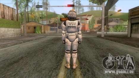 Star Wars JKA - Felucia Clone Skin für GTA San Andreas dritten Screenshot