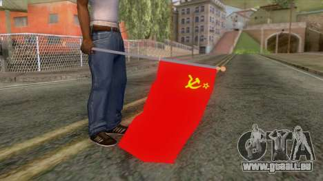 Flag of the Soviet Union für GTA San Andreas