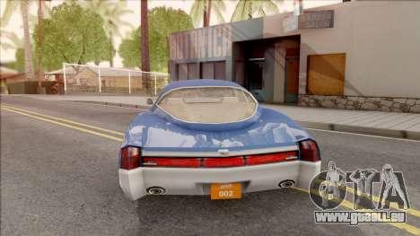 Driver PL Cerva pour GTA San Andreas sur la vue arrière gauche