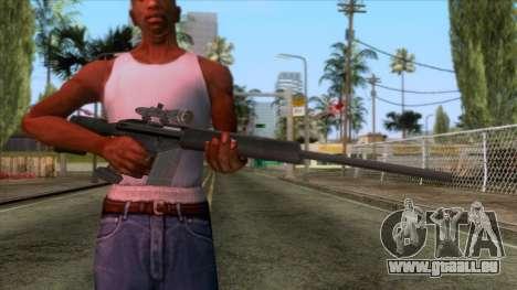 PSG1 Sniper Rifle pour GTA San Andreas troisième écran