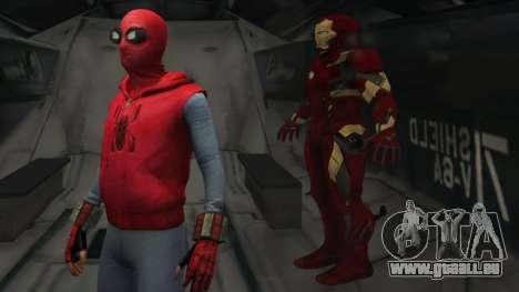 GTA 5 Spider-Man Home-Made Suit zweite Screenshot