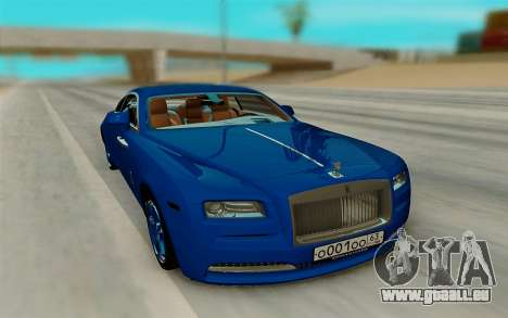 Rolls Royce Wraith für GTA San Andreas