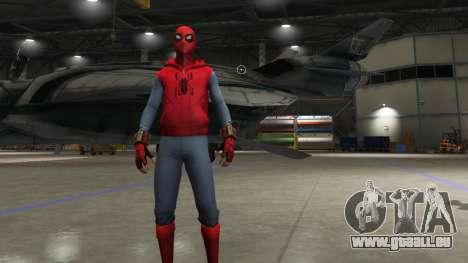 GTA 5 Spider-Man Home-Made Suit troisième capture d'écran