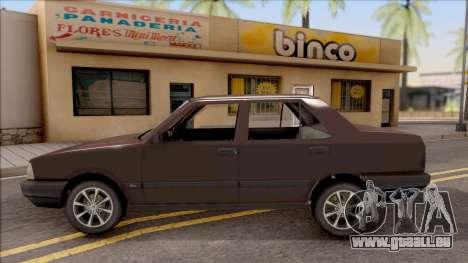Tofas Sahin v2 pour GTA San Andreas laissé vue