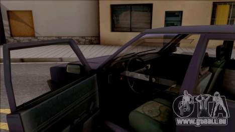 Tofas Sahin pour GTA San Andreas vue intérieure