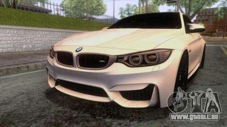 BMW M4 GTS High Quality pour GTA San Andreas vue de côté