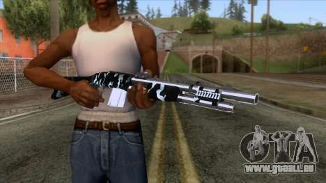 De Armas Cebras - Shotgun pour GTA San Andreas troisième écran
